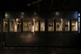 """Exposition anthropologique : """"Cheveux chéris : Frivolité et trophées"""". Du 18 septembre 2012 au 14 juillet 2013."""