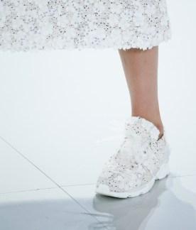 Chaussure de sport Chanel haute couture printemps-été 2014