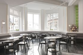 salon de thé restaurant bio Rose Bakery au Bon Marché RIve Gauche