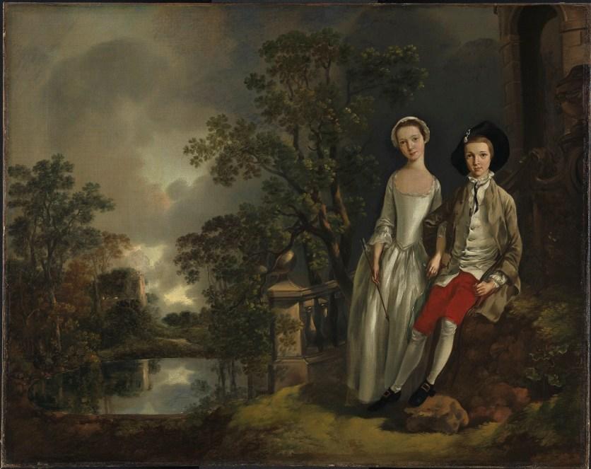 Thomas Gainsborough, Heneage LIoyd et sa soeur Lucy