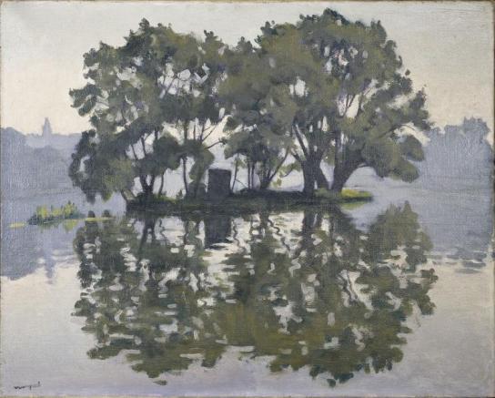 Albert Marquet, L'Ile aux Cygnes