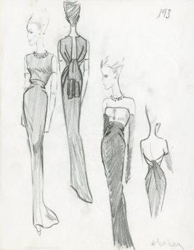 Balenciaga Illustration de collection été 1964