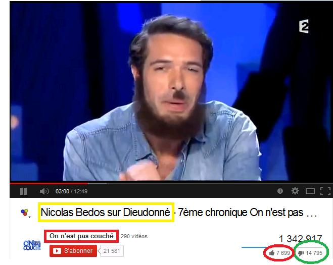 Nicolas Bedos VS Dieudonné