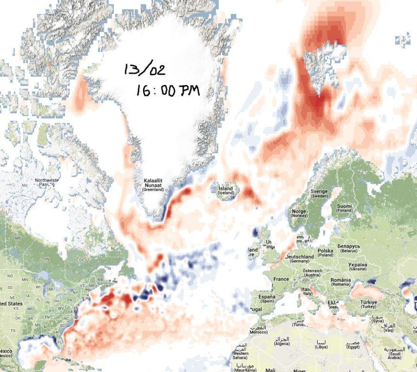 Observez les Mers Caspienne et Noire.