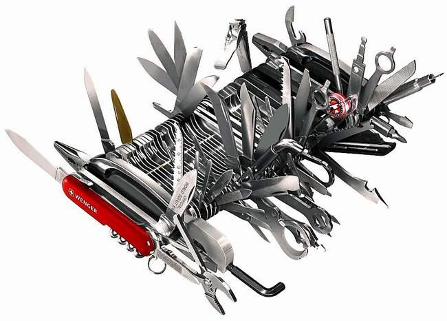 couteau suisse outil survivalisme
