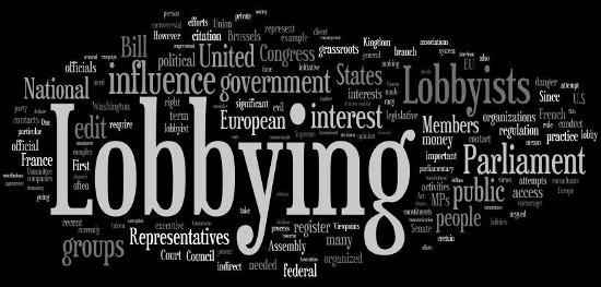 lobbyiing