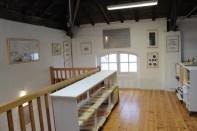 Installation des oeuvres de l'artothèque - novembre 2013