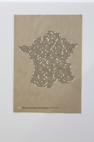 RENCONTRES NATIONALES de la FRAAP sérigraphie par Alain Buyse 53x38 cm
