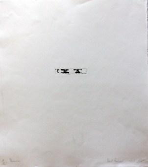 RASSOUW Benoit Mémoire, 2005 gravure (1/2) 50x56 cm
