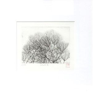 OKAMOTO Hiroko Intimité III gravure (4/5) 43x43 cm