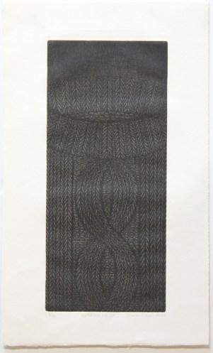 OKAMOTO Hiroko Sweater n°49, 2002 gravure (8/50) 63x38 cm