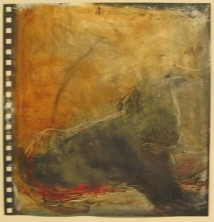 ROUX Béatrice Sans titre, 2005 Page de carnet de dessin 39x39 cm