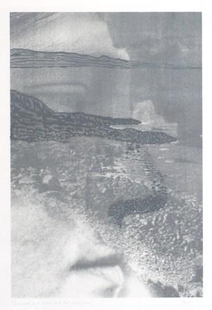 PITROU Pierre Corps flottants (au flux) et gisants (au jusant), 2002 photographie 50x40 cm