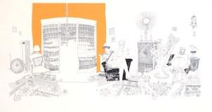 Dalida, 2007 Sérigraphie 63x100 cm