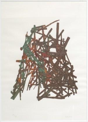 RONCO Antoine Tipi 17/50, 2007 sérigraphie 50x70 cm