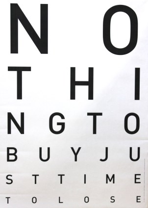 TREMBLIN Mathieu Optical Protest sérigraphie 85x60 cm