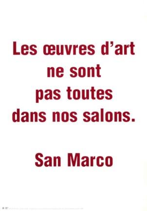 CLOSKY Claude Sans titre, 1999 Sérigraphie par Alain Buyse affiche n°55D 53x38 cm