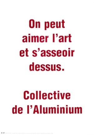 CLOSKY Claude Sans titre, 1999 Sérigraphie par Alain Buyse affiche n°55E 53x38 cm