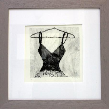 DOMONT Sophie, sans titre, 2011, gravure, 40x40 cm