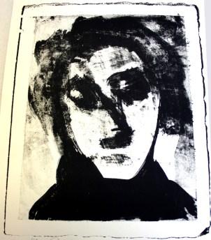 LEROY Dominique, Sans titre, 2013, Lithographie, 50x34 cm