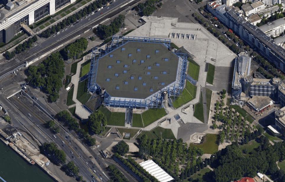 La Palais omnisports de Paris Bercy (Accor Hotels Arena)