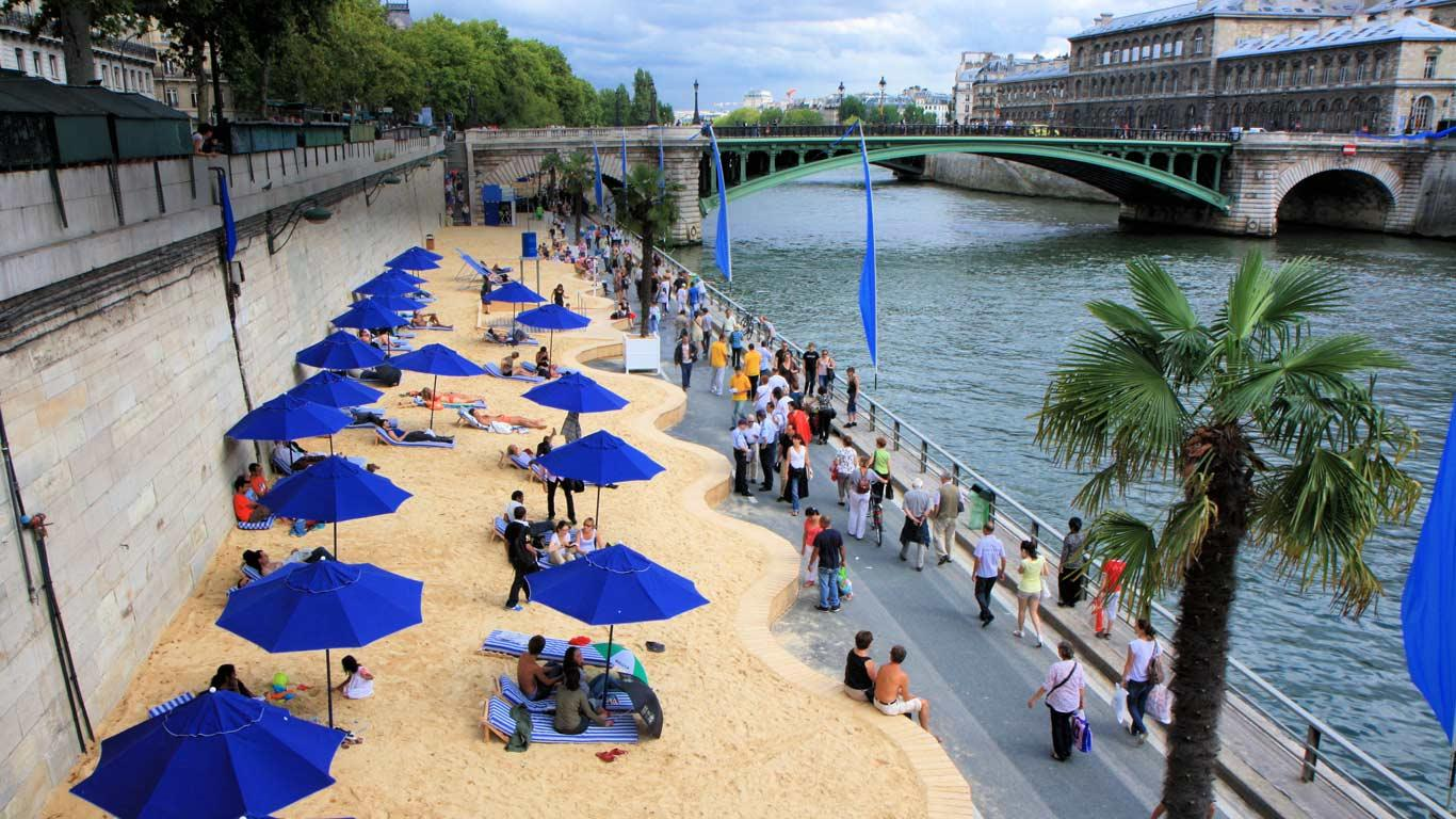 Image result for paris plage