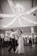 Lesner Inn VIrginia Beach Wedding Venue Hardwood Ballroom