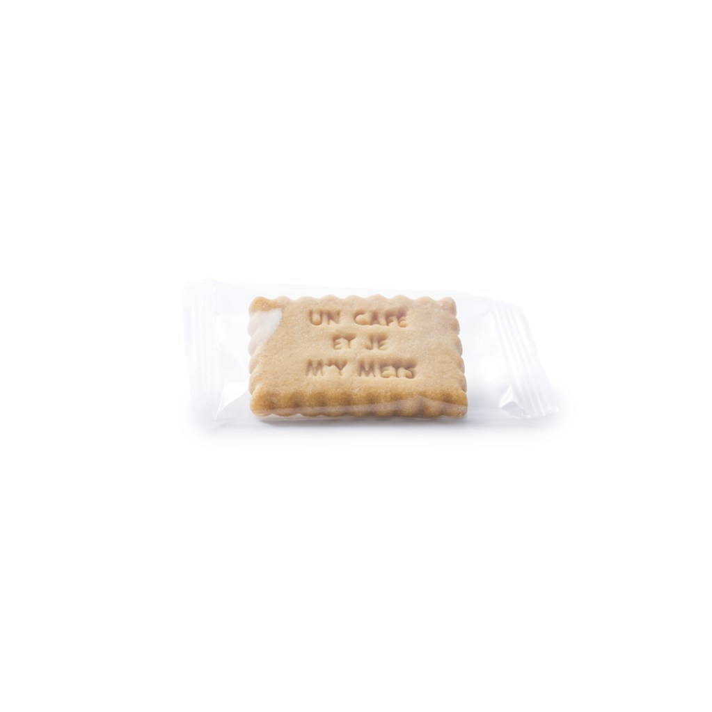 Packaging personnalisable - Emballage individuel - Biscuit gravé - Le mini