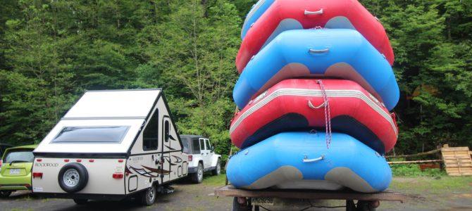 Des sensations fortes avec Propulsion Rafting pour les 18 ans de Florian