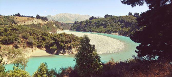 Nouvelle Zélande – île du Sud – Les gorges de Raika