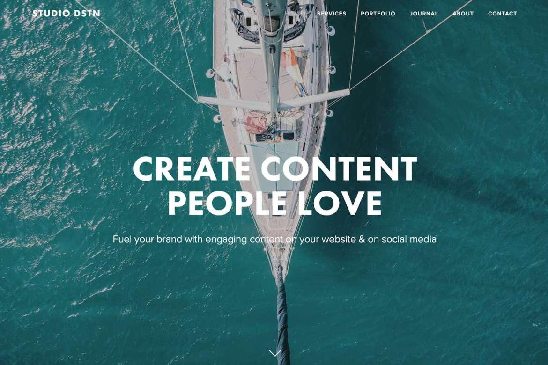 Studio DSTN, une agence de création de contenu pour marques