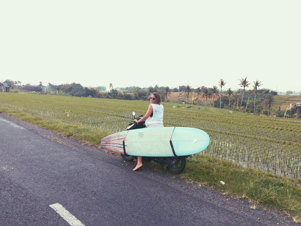 Margaux Roux, Digital Nomad et surfeuse