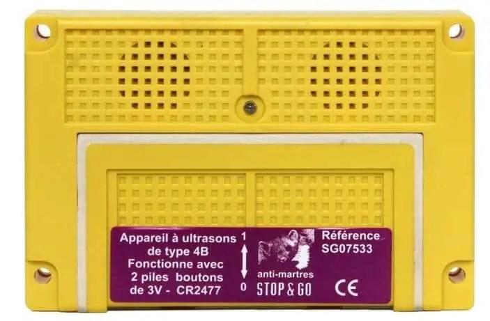 appareil ultrason anti rongeur pour voiture