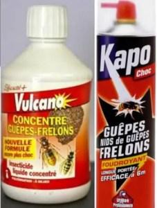 Quels produits pour détruire un nid de frelon asiatique ?