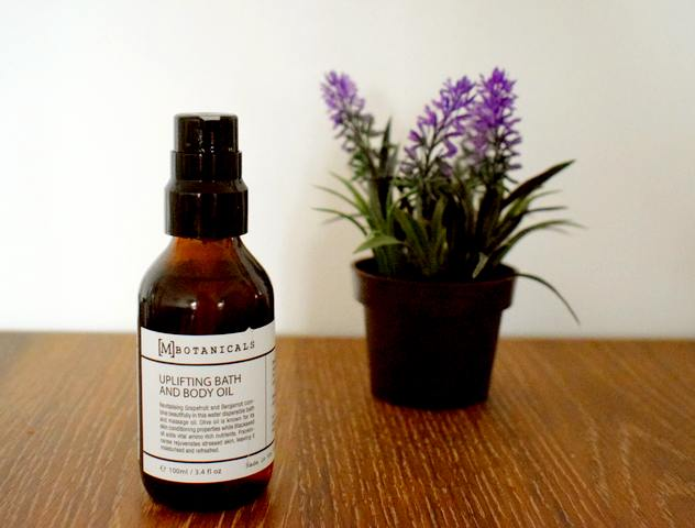 My Green Brands : eshop de cosmétiques bio de niche / Huile Uplifting Bath and Body M Botanicals