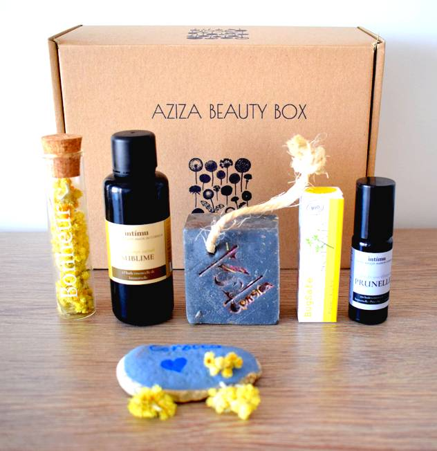 Aziza Beauty Box : beauté vegan