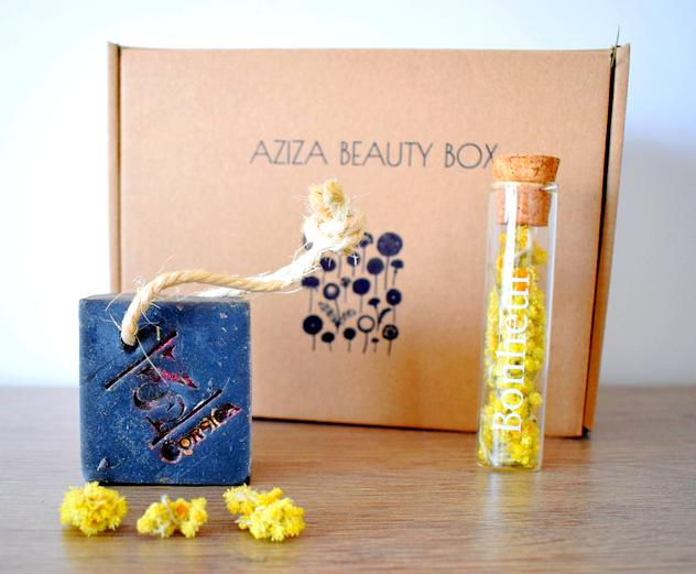 Aziza Beauty Box : Savon saf Savonnerie du Nebbiu