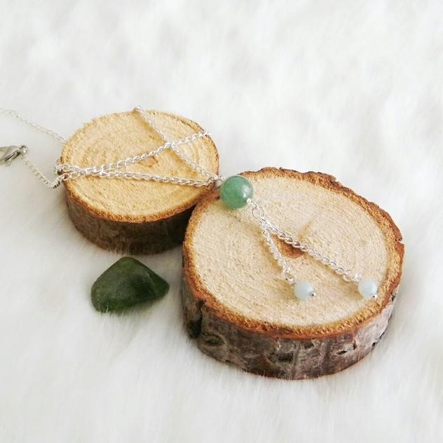 Collier Dana Modèle I Chic Energetic : bijoux de lithothérapie en pierres semi-précieuses