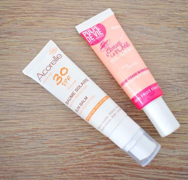Crèmes solaires Acorelle et autobronzants bio Pulpe de vie
