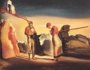 Salvador Dali, L'atavisme du crépuscule, 1934, huile sur bois, Kunstmuseum Bern, http://www.heilmanneric.com/article-32457420.html, © Heilmann Eric