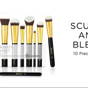 Pack de 10 pinceaux sculpt and blend 3