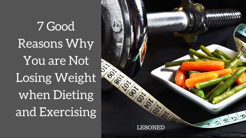 7 Damn Good Reasons Why You are Not Losing Weight when Dieting and Exercising