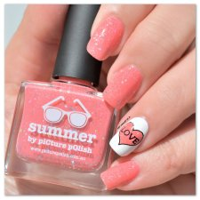 Stamping Master Corail & Blanc Picture Polish Summer (3)