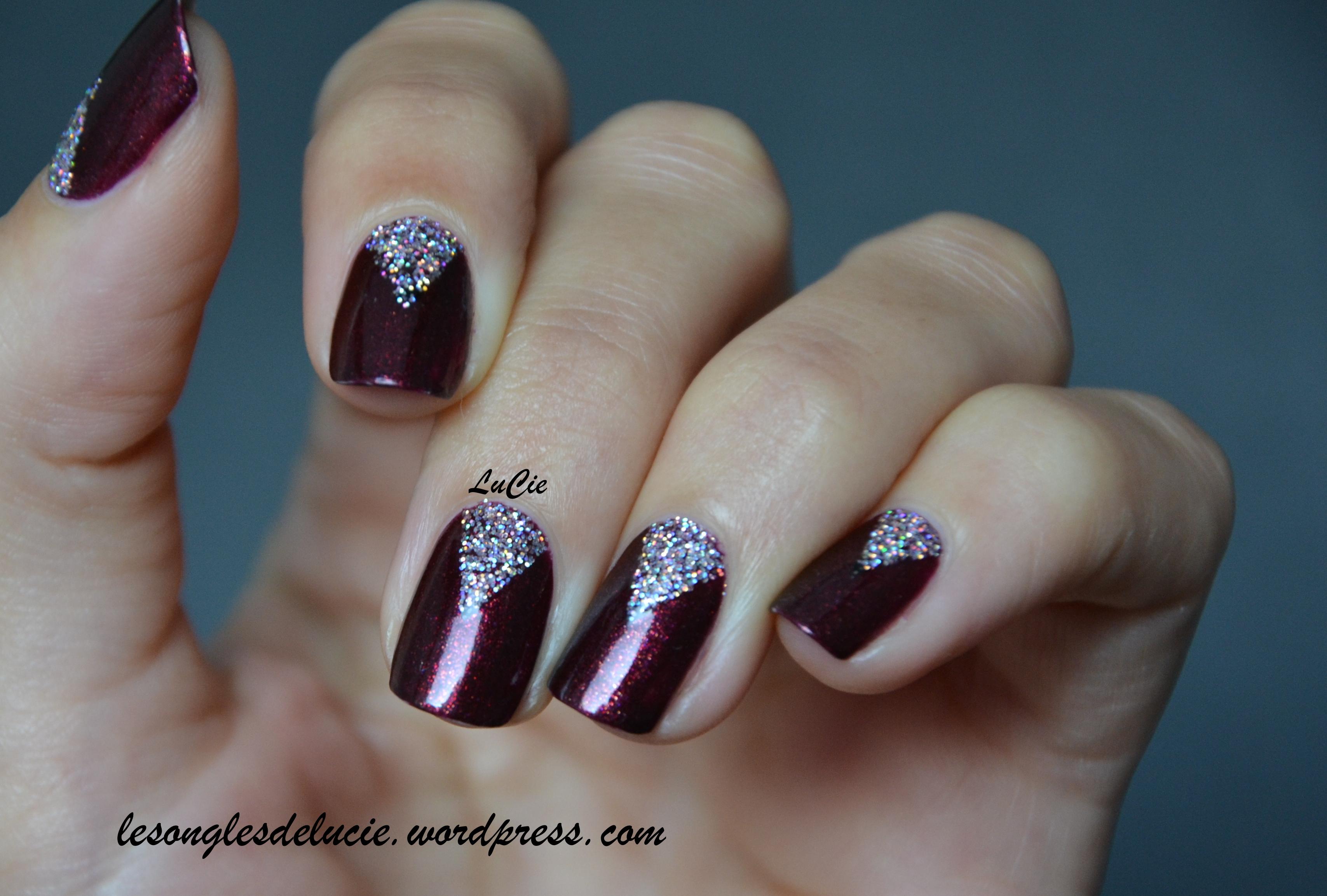 Nail Art De La Simplicit Les Ongles De Lucie