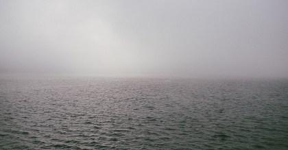 All at sea..