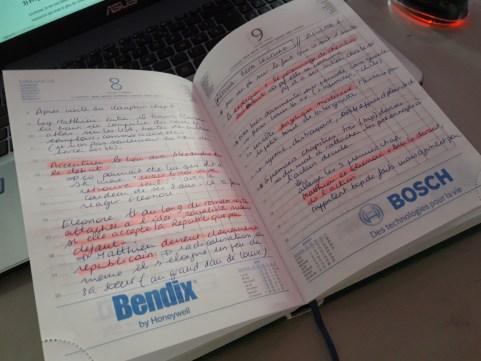 Notes sur les retours de bêta-lecteurs