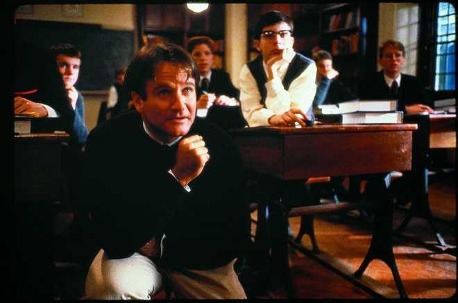 Le cercle des poètes disparus film Robin Williams