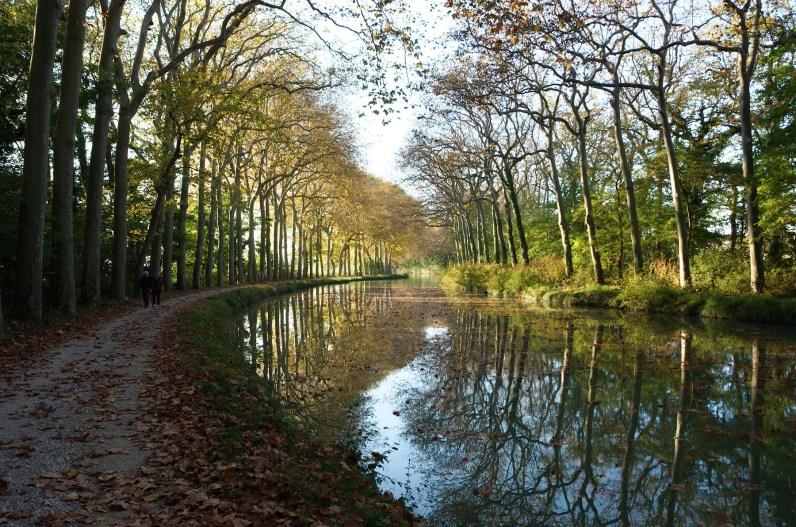 Canal du Midi en automne
