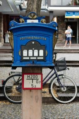 Boîte aux lettres à Rudesheim