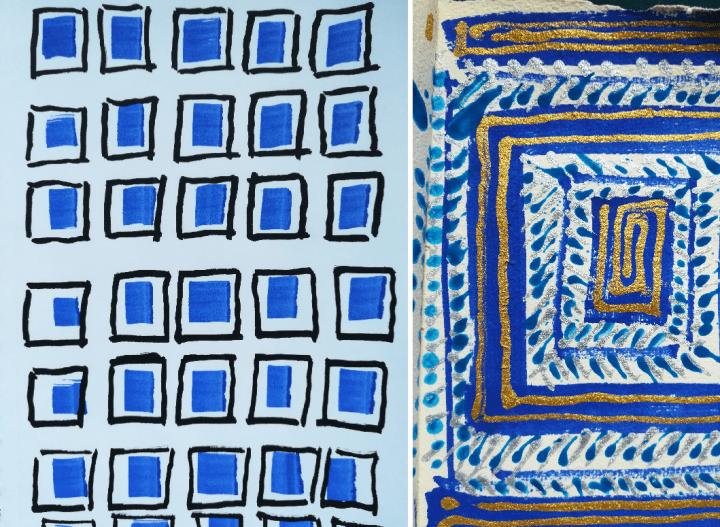 PDT-Petits carnets bleus 1-Gilles-Marie Dupuy-Les Papotis de Thalie